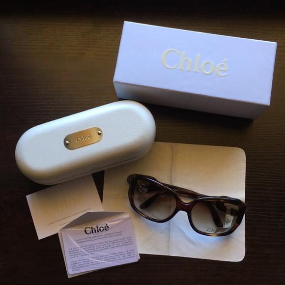 a240d4e1ebb2 New CHLOE Tortoise Shell Sunglasses CL2192